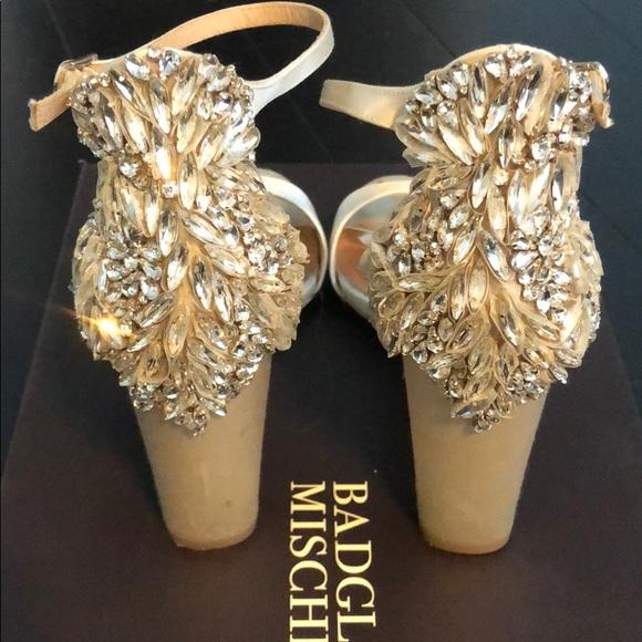 c436db6c1a5 Badgley Mischka Shoes - Badgley Mischka Seina Ivory Bridal Wedding Heel 6